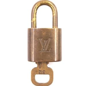 Gold Lock Keepall Speedy  Key Set #312 Bag